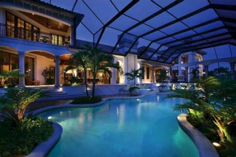 Luxury Home Plans With Pools | 24 awesome home indoor pool design with slide to make your