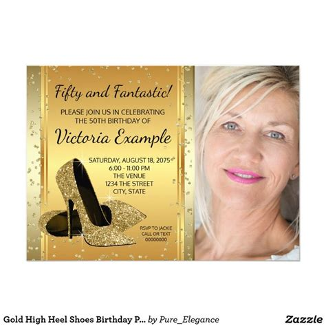 Sle Birthday Invitation Card For Adults 153 Best High Heels Shoe Invitations Images On Pinterest