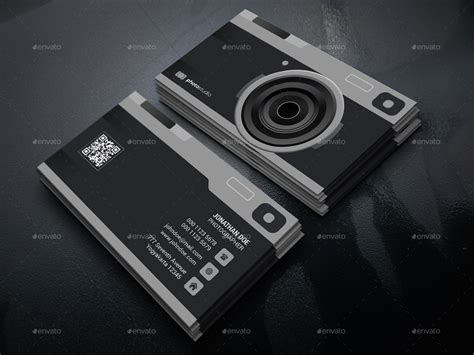 card templates for photography photography business card by gowes graphicriver