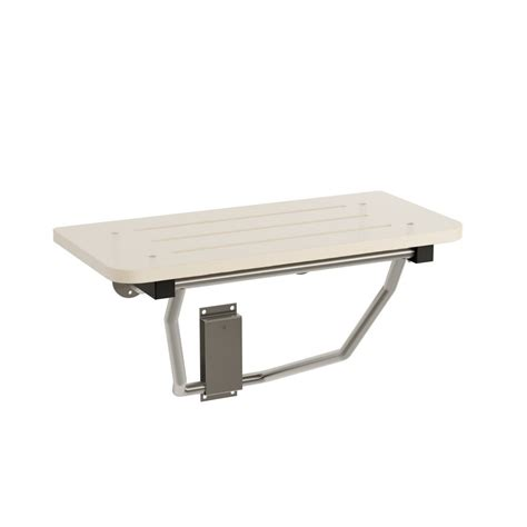 shower bench seat bradley 9593 000000 shower seat rectangular hdpe