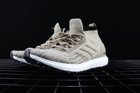 Adidas Ultra Boost Atr Mid Trace Khaki 100 Original Sneakers adidas ultra boost atr mid ltd trace khaki clear brown for sale hoop