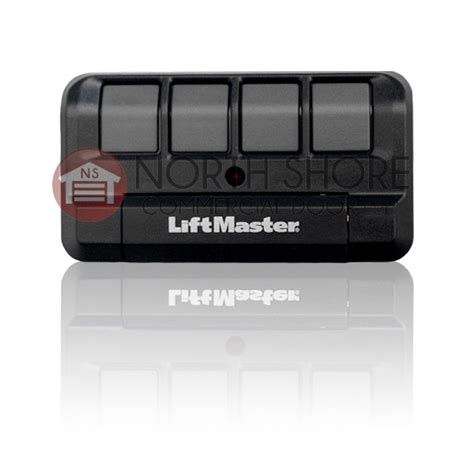 4 Button Garage Door Opener by Liftmaster 374lm Security 4 Button Garage Door Opener