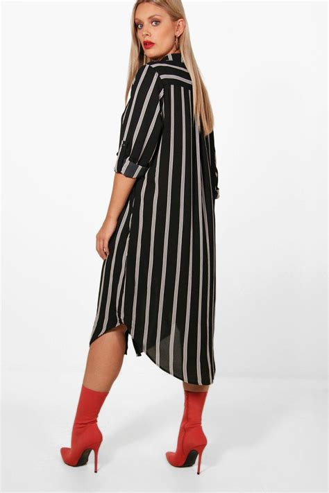 Striped Shirt Dress plus striped shirt dress
