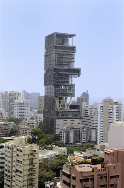 mukesh ambani new house interior mukesh ambani his wife nita ambani to their new house building antilia in mumbai