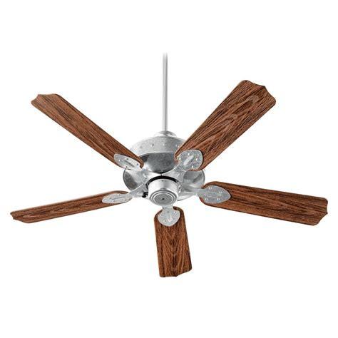 galvanized ceiling fans quorum lighting hudson galvanized ceiling fan without light 137525 924 destination lighting