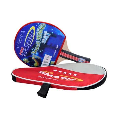 Raket Tenis Meja jual daily deals pro smash bat tenis meja merah