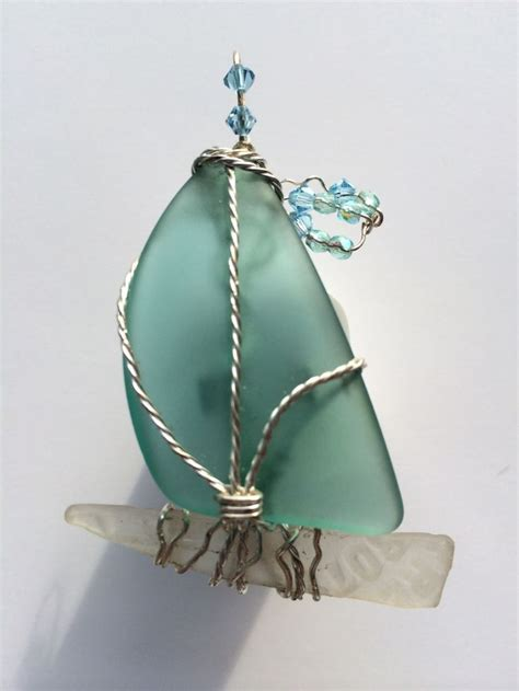 glass craft sea glass crafts ted s