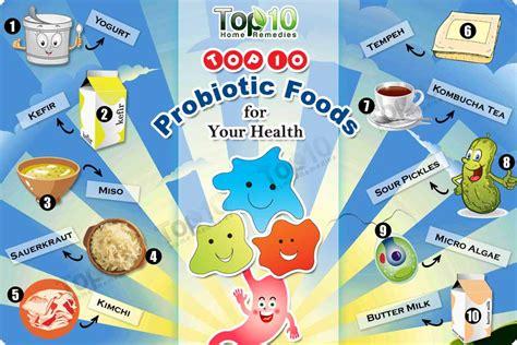food with probiotics top 10 probiotic foods for your health top 10 home remedies
