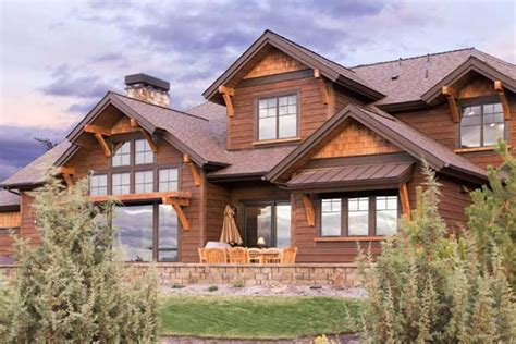 Mountain Rustic Home Plans by Mountain Rustic Style House Plans Plan 98 116
