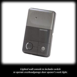 Garage Door Remote For Craftsman 1 2 Hp Craftsman 1 2 Hp Chain Drive Garage Door Opener With Remote Controls