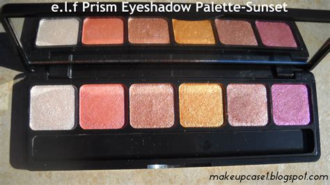 E L F Prism Eyeshadow e l f prism eyeshadow palette sunset e l f product