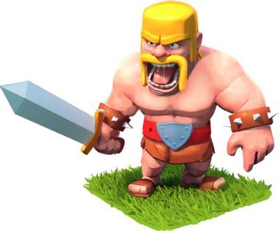 Coc Barbarian3 clash of clans barbarian clash wiki