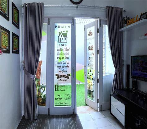 Karpet Nonton Tv rumah 32 meter ini punya indoor garden ini dekorasi ajaibnya