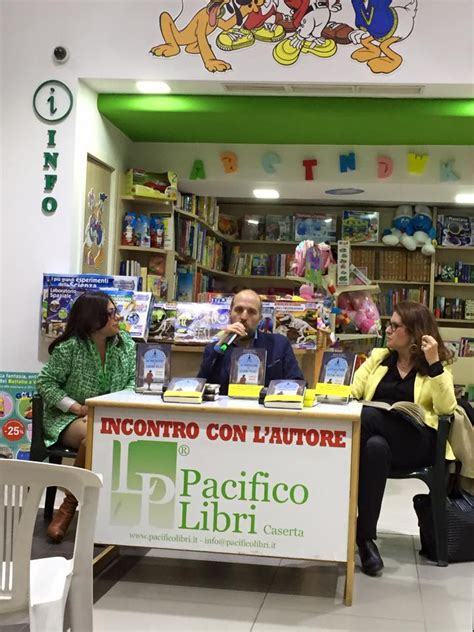 libreria pacifico alla libreria pacifico di caserta lorenzo marone