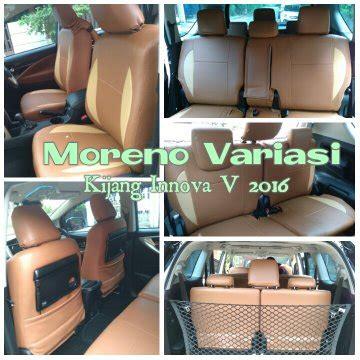 Sarung Jok Mobil Kijang Inova 4 jual beli sarung jok mobil kijang innova type v 2016 baru