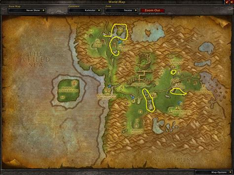 Blind Spot Location Blindweed Where To Farm In Wow
