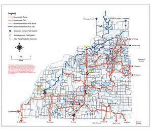 burnet county map lake country riders snowmobile club burnett county