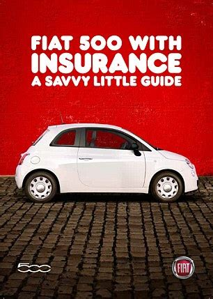 Insurance For A Fiat 500 Fiat In Black Box Deal To Help Younger Buyers Struggling