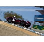 Maserati Tipo 61  Driver Derek Bell 2015 Monterey