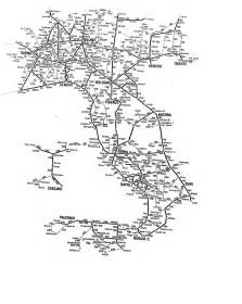 Italy Rail Map by Italy Train Map Rail Lines In Italy Pictures To Pin On