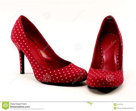 high heel photos polkadot high heels 1 royalty free stock image
