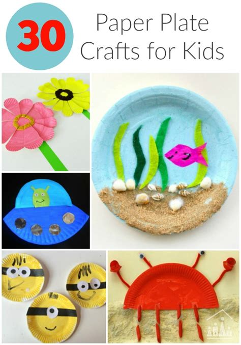 How To Make Paper Plates At Home - 30 awesome paper plate crafts crafty at home