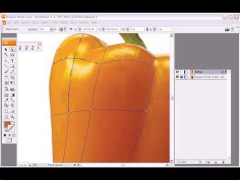 tutorial illustrator mesh tool illustrator mesh tool quick tutorial youtube