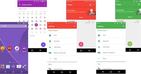 xperia themes material design material design themes для sony xperia с lollipop