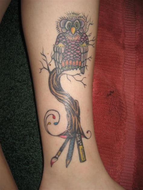 tattoo owl tree owl in tree tattoo by kristenhill on deviantart