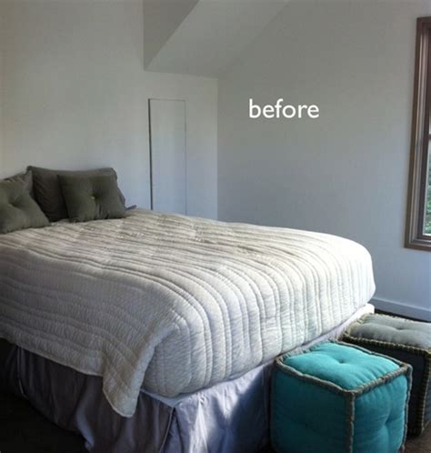 how to decorate a guest room a colorful and cozy guest room makeover 187 curbly diy