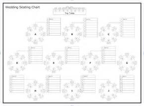 seating chart template for wedding best 25 reception seating chart ideas on