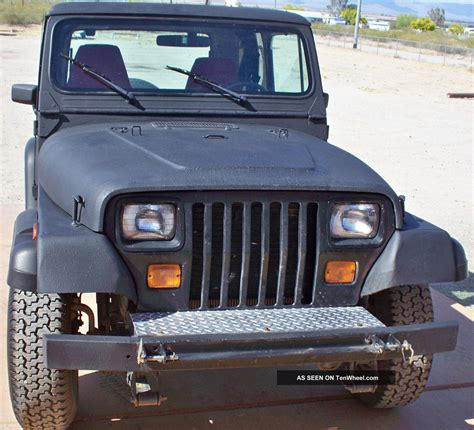 1991 Jeep Wrangler Top 1991 Jeep Wrangler 4wd Top