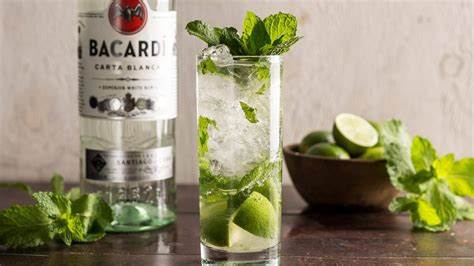 bacardi mojito the mix mojito recipe rum soda water cocktails the mix