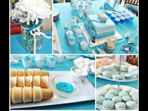 DIY Christening party decorating ideas   YouTube