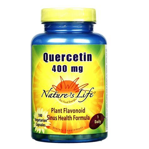 Quercetin Liver Detox by Nature S Quercetin 400 Mg 100 Vcapsules Evitamins