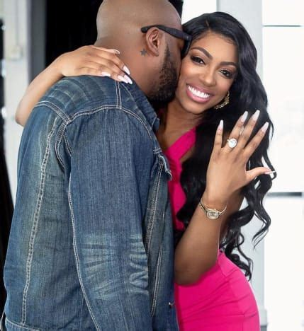 porsha williams diamond ring porsha williams engaged to her baby daddy the