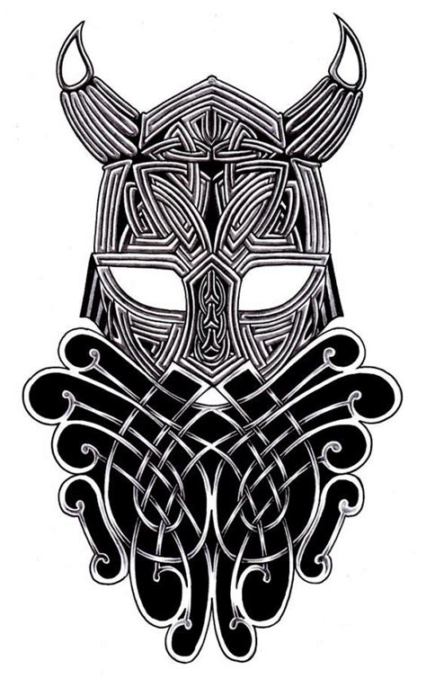 norse tribal tattoo tribal viking warrior amazing flash tattoos
