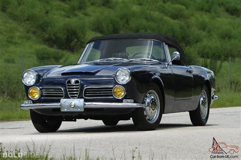 Alfa Romeo 2600 Spider by Alfa Romeo 2600 Spider Alfa Romeo 2600 Sprint For Sale