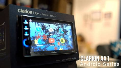 fitur unggulan headunit clarion ax1 by sundamotor