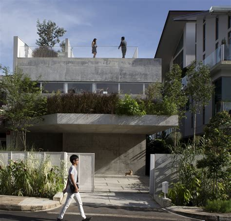 Family Compound Floor Plans terrace house formwerkz architects archdaily