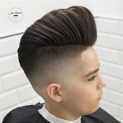 pompadour haircut boys 30 pompadour haircuts hairstyles pompadour and modern