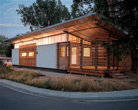 students turned this old mobile home into a stylish zen