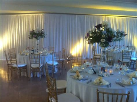 wedding wall drapery rental white pipe and draping wall draping wedding chiavari chair