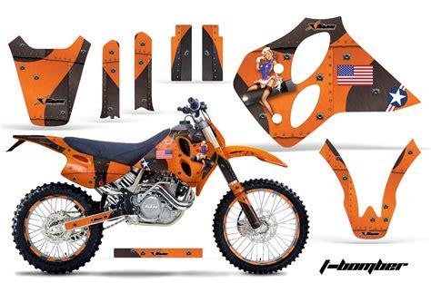 Ktm Orange Paint Ktm C0 1993 1997 Sx Xc Lc4 Four Stroke Graphics
