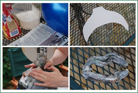 How To Make Paper Mache Out Of Flour - how to make a paper m 226 ch 233 pi 241 ata fish ted s