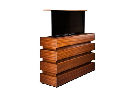 hidden tv lift cabinet stock size modern flat screen tv lift cabinet