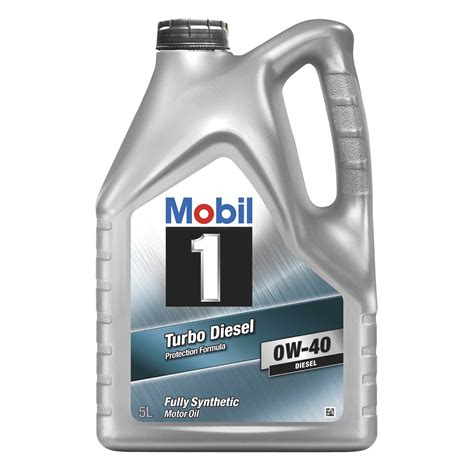 ebay motors mobile mobil 1 turbo diesel 0w 40 fully synthetic engine