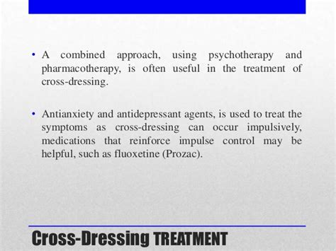 cross dressing symptoms treatments and resources for gender identity