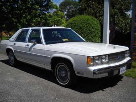 victorian ls for sale 1991 ford crown victoria ls 5000 original miles
