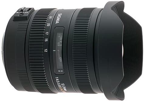 Sigmat Terbaru sigma 12 24mm f 4 5 5 6 ex dg hsm ii lensa ultrawide